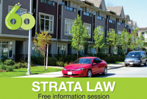 Strata Law – Free Info Session