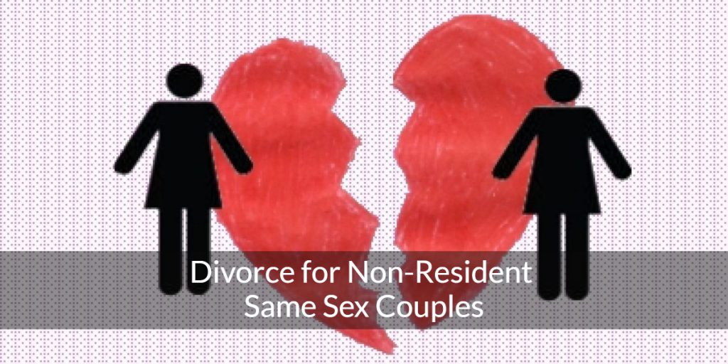 same sex couples divorce