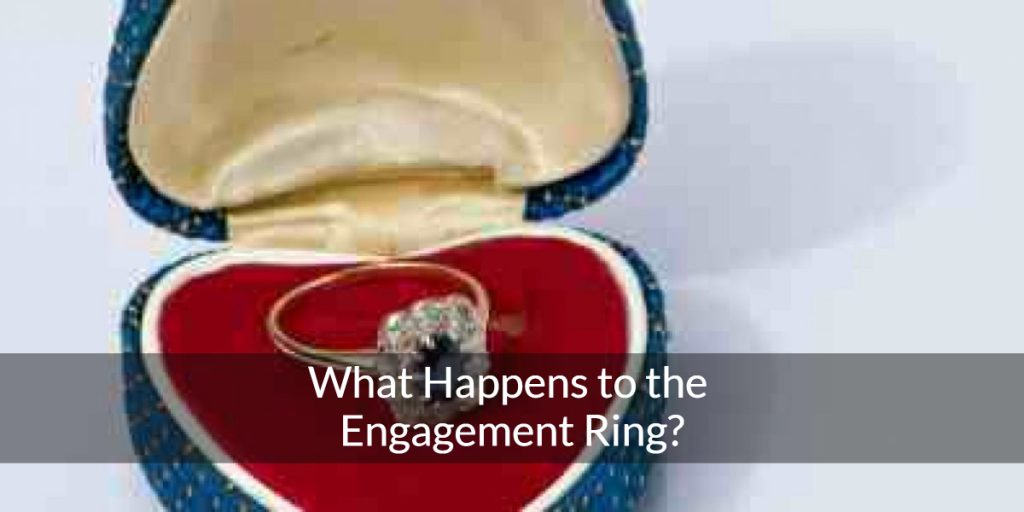 what happens to the engagment ring