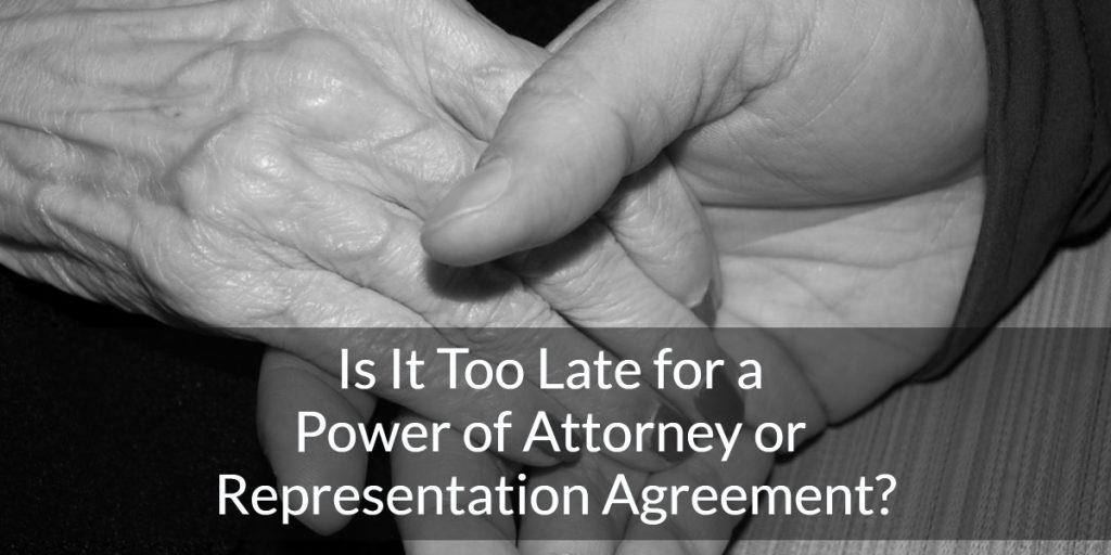 representation agreement power of attorney vancouver bc canada