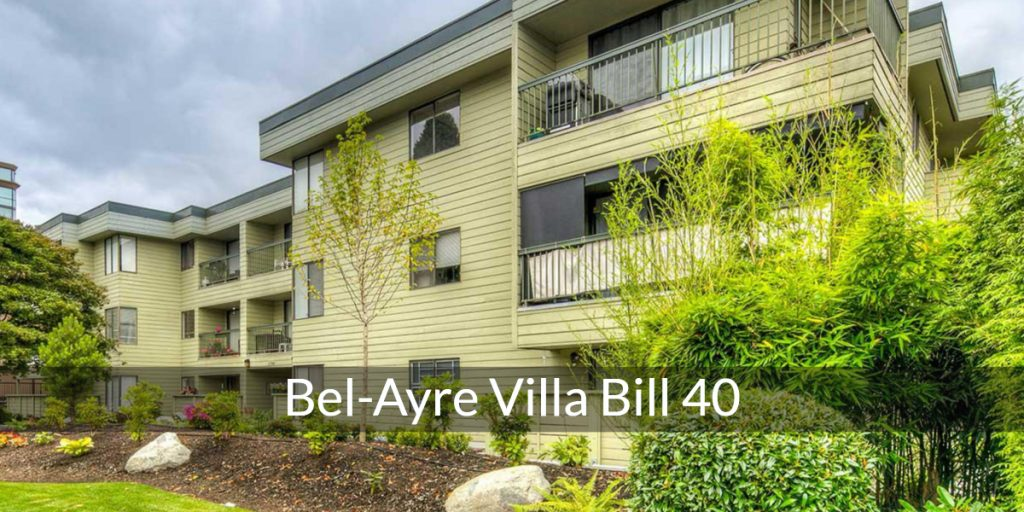bel ayre villa condo apartment bill 40 case vancouver bc