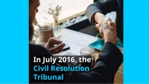 Civil Resolution Tribunal Update