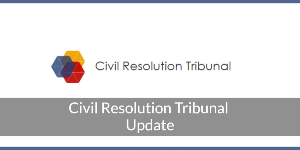 civil resolution tribunal vancouver bc