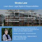 Your Strata Questions Answered