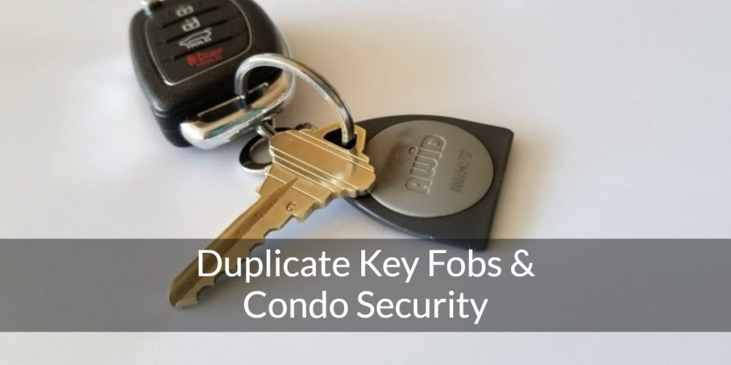 duplicate key fobs and condo security vancouver bc