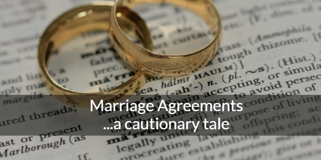 Marriage Agreements Vancouver